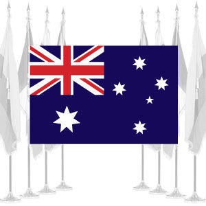 Australia Ceremonial Flags