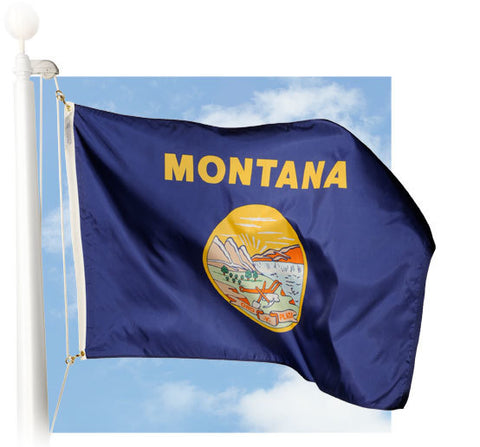 Montana Outdoor Flags