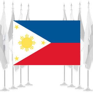 Philippines Ceremonial Flags