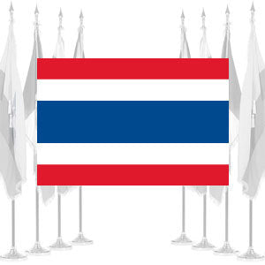 Thailand Ceremonial Flags