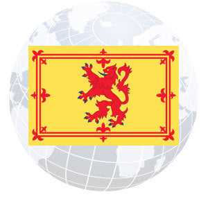 Scottish Rampant Lion Outdoor Flags