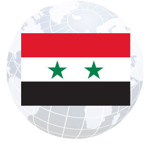 Syria Outdoor Flags