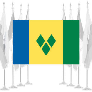 St. Vincent and Grenadines Ceremonial Flags