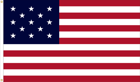 13 Star Outdoor Historic U.S. Flags