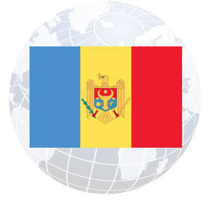 Moldova Outdoor Flags