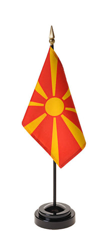 Macedonia Small Flags