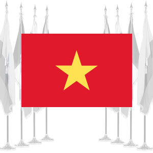 Vietnam Ceremonial Flags