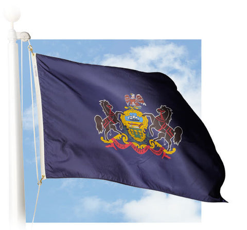 Pennsylvania Outdoor Flags