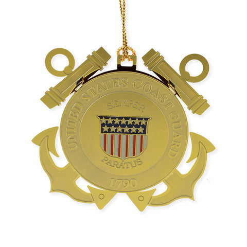 Coast Guard Seal Ornament