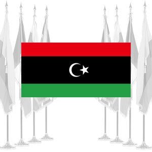 Libya Ceremonial Flags