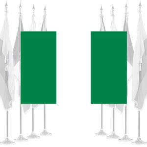 Nigeria Ceremonial Flags
