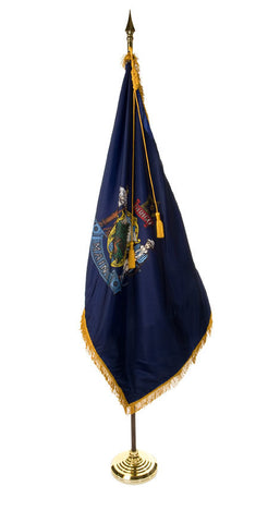 Maine Ceremonial Flags and Sets