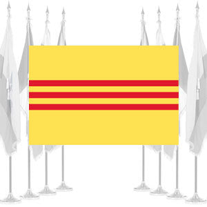 South Vietnam Ceremonial Flags