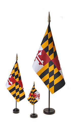 Maryland Small Flags
