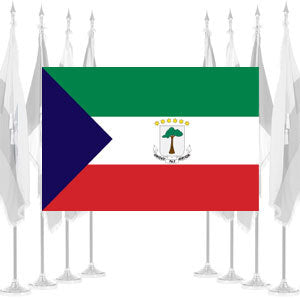Equatorial Guinea Government Ceremonial Flags