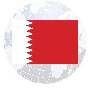Bahrain Outdoor Flags