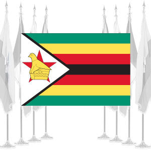 Zimbabwe Ceremonial Flags
