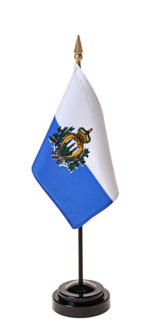 San Marino Government Small Flags