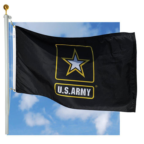 Army Star Outdoor Flags