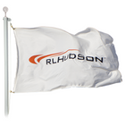 Corporate Logo Flags - Custom, Rectangular