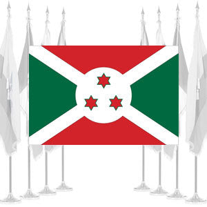 Burundi Ceremonial Flags