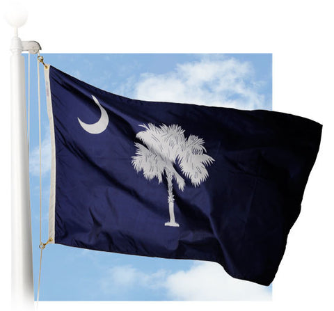 South Carolina Outdoor Flags