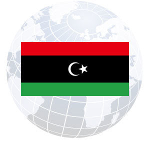 Libya Outdoor Flags