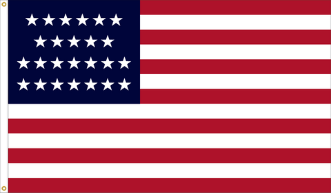 25 Star Outdoor Historic U.S. Flags