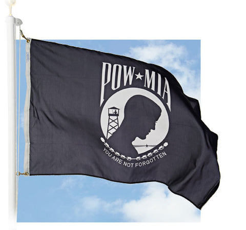POW-MIA Outdoor Flags