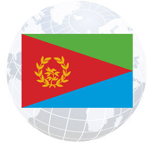 Eritrea Outdoor Flags