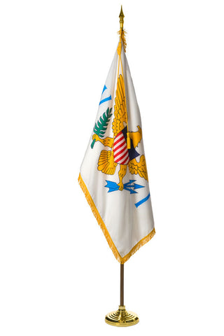 U.S. Virgin Islands Ceremonial Flags and Sets