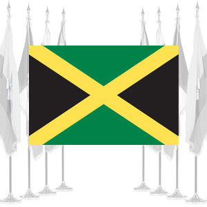 Jamaica Ceremonial Flags