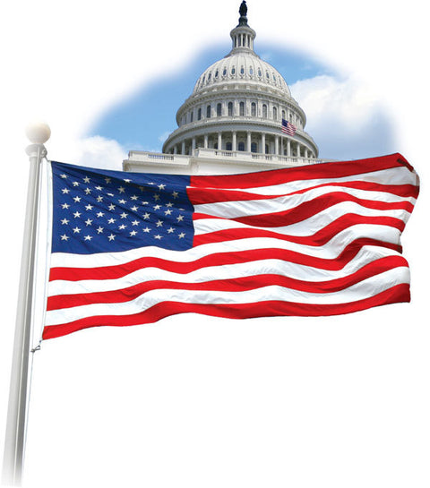 Government Grade American flag