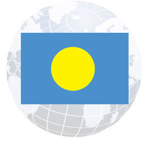 Palau Outdoor Flags