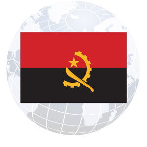 Angola Outdoor Flags