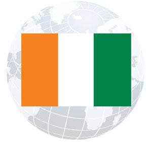 Ivory Coast Outdoor Flags