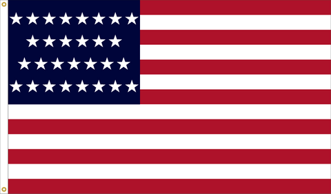 29 Star Outdoor Historic U.S. Flags