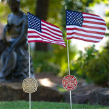 Grave Markers - Flag Holders, Firefighter