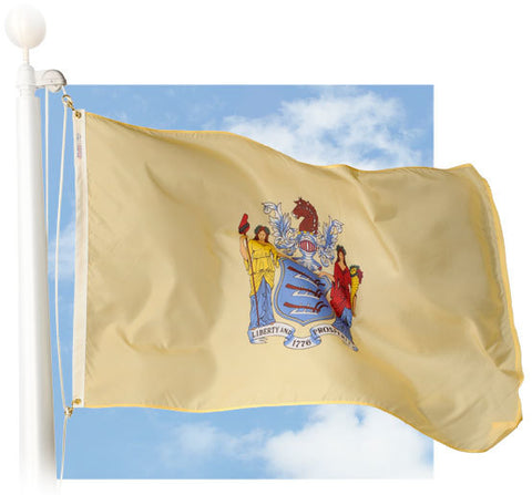 New Jersey Outdoor Flags