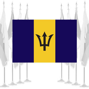 Barbados Ceremonial Flags