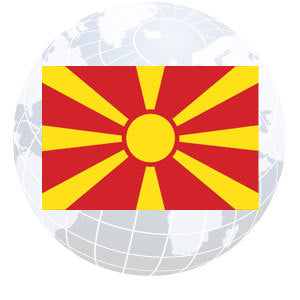 Macedonia Outdoor Flags