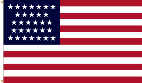 31 Star Outdoor Historic U.S. Flags