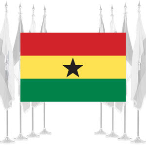 Ghana Ceremonial Flags