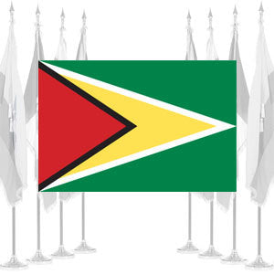 Guyana Ceremonial Flags