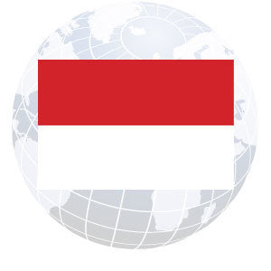 Indonesia Outdoor Flags