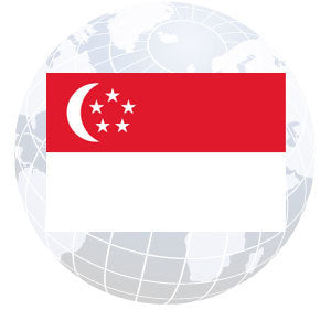 Singapore Outdoor Flags