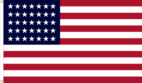 35 Star Outdoor Historic U.S. Flags