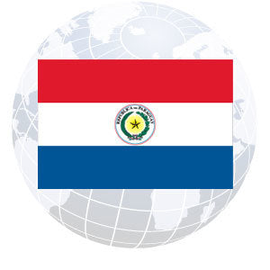 Paraguay Outdoor Flags