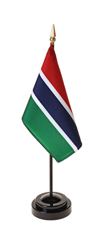 Gambia Small Flags