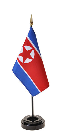 North Korea Small Flags